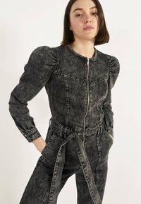 Bershka - 02954335 - Jumpsuit - metallic grey - 3