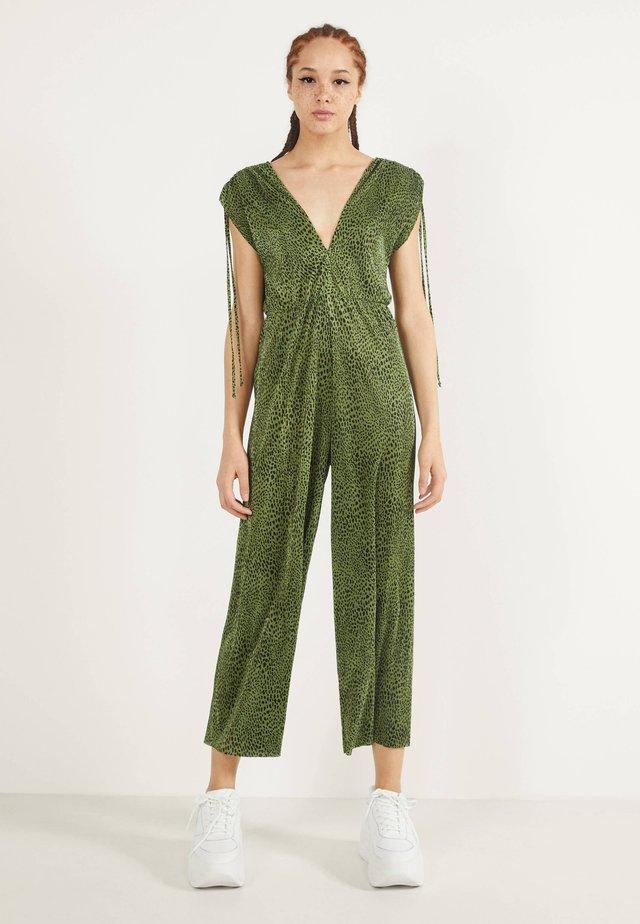 MIT PRINT  - Tuta jumpsuit - green