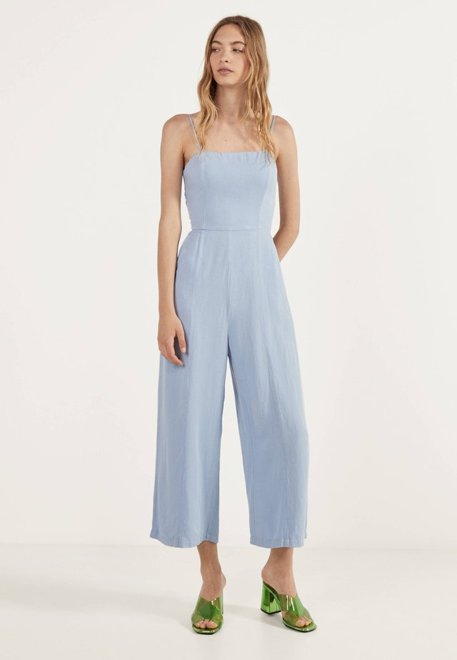 MIT BINDEKNOTEN - Jumpsuit - light blue