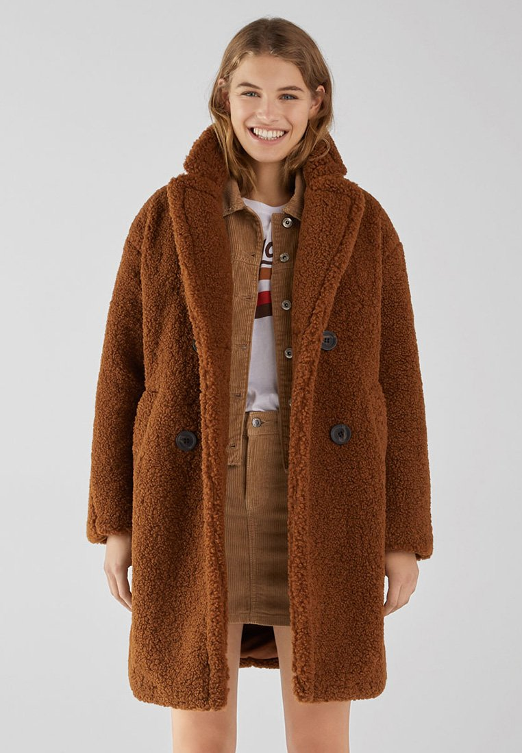 Bershka - Veste d'hiver - brown