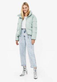 Bershka - PUFFY-JACKE 01460551 - Winter jacket - turquoise - 1