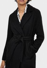 Bershka - MIT GÜRTEL - Classic coat - black - 3