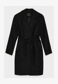 Bershka - MIT GÜRTEL - Classic coat - black - 5