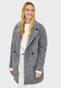 Bershka - Mantel - grey - 0