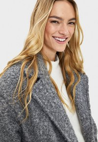 Bershka - Mantel - grey - 3