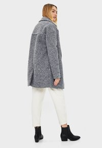 Bershka - Mantel - grey - 2
