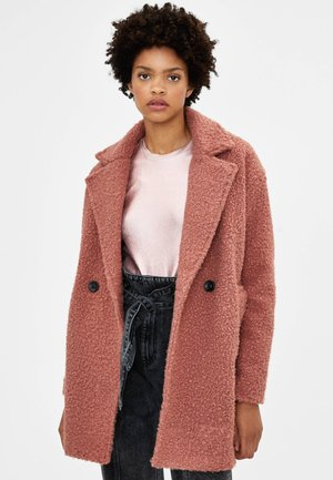 Manteau court - rose