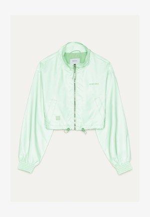 REFLEKTIERENDE CROPPED-JACKE 01242644 - Lehká bunda - green