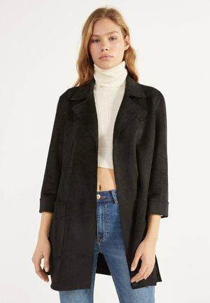 MIT GÜRTEL  - Zimní kabát - black