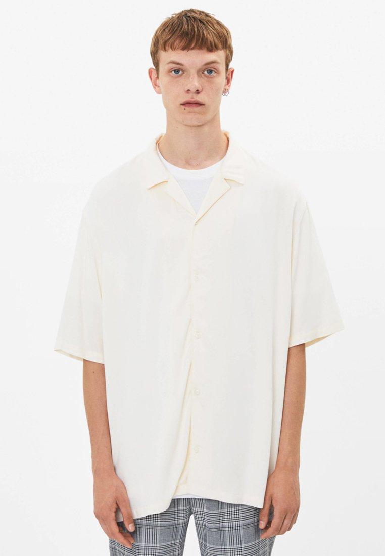 Bershka - Shirt - white