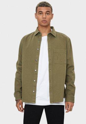 MIT RISSEN - Overhemd - khaki
