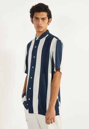MIT PRINT - Shirt - dark blue
