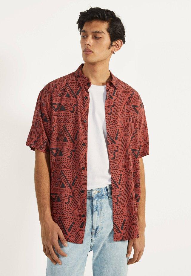 MIT PRINT  - Camicia - red