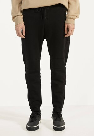 JOGGINGHOSE IN OTTOMANSTRUKTUR 00297478 - Tracksuit bottoms - black