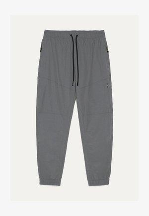 Kangashousut - metallic grey