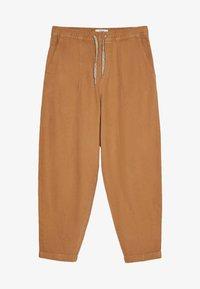 Bershka - Teplákové kalhoty - brown - 4