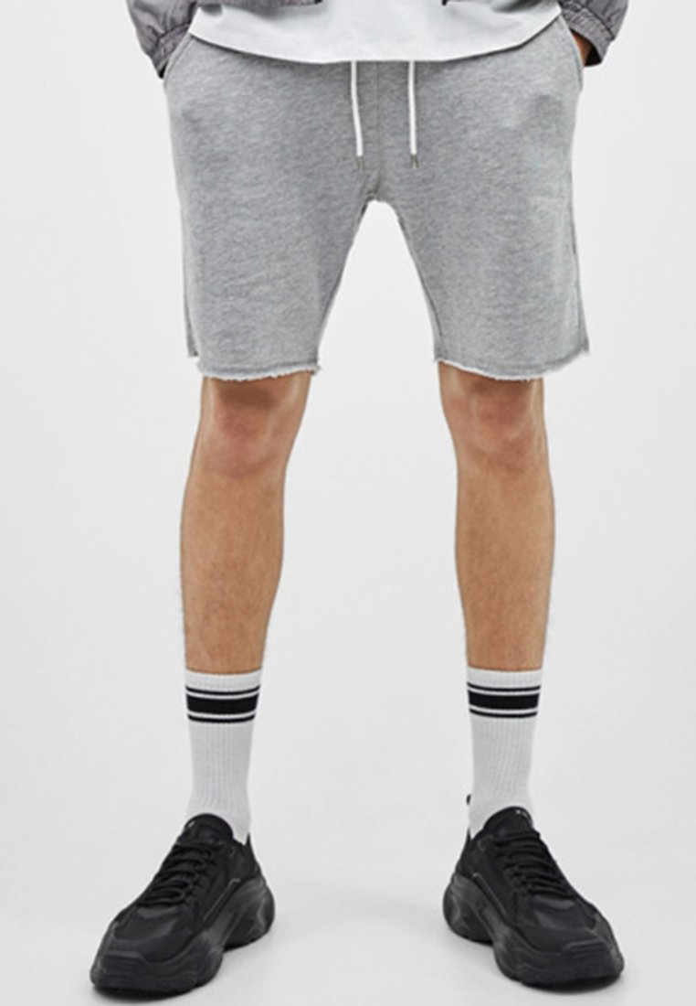 Bershka - Shorts - light grey