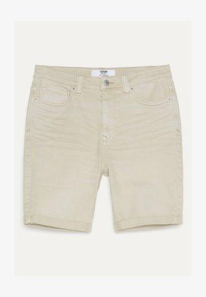 Jeans Shorts - beige