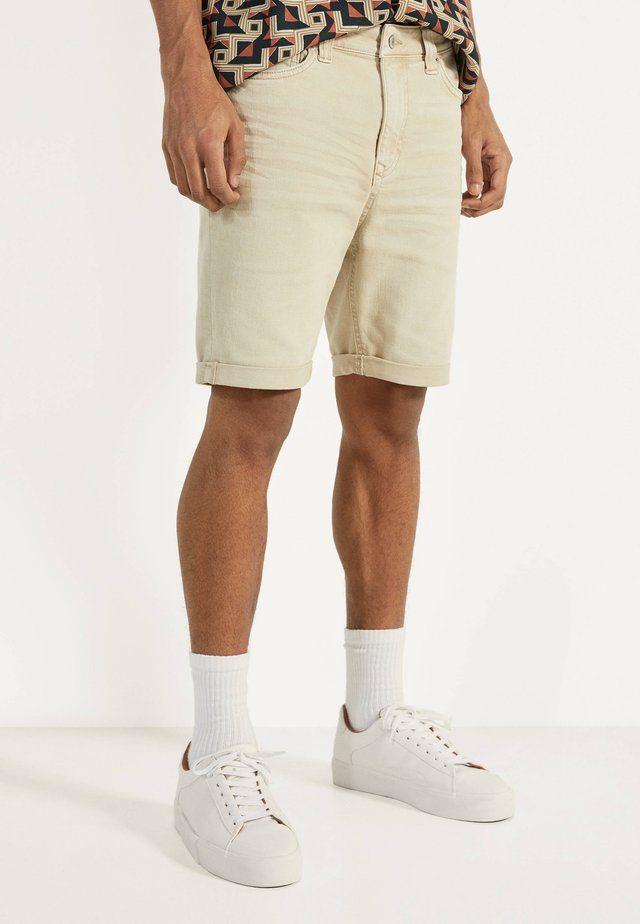 Jeans Shorts - beige