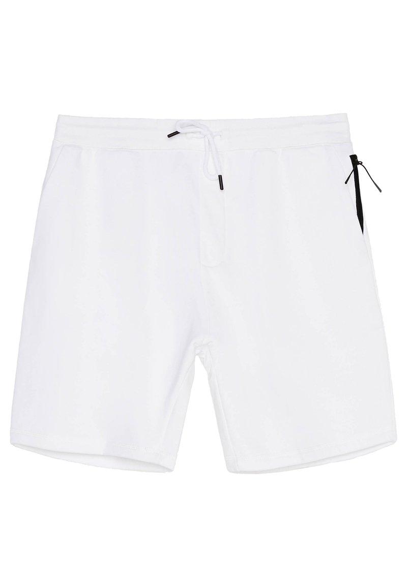 Bershka - Short - white