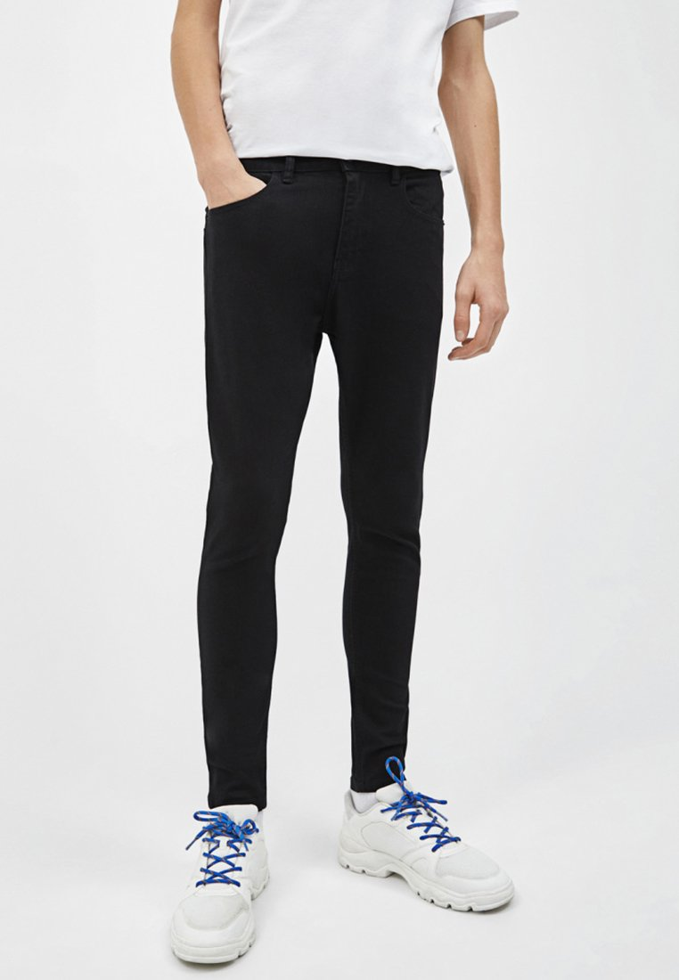 Bershka - Jeans Skinny - black