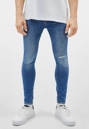 Jeans Skinny Fit - blue-black denim