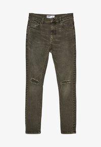 Bershka - Slim fit jeans - khaki - 5