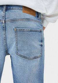 Bershka - Slim fit jeans - blue denim - 2