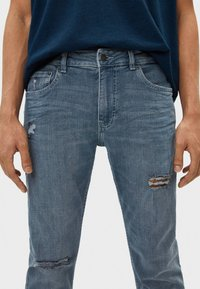 Bershka - Jeans Skinny Fit - grey - 3