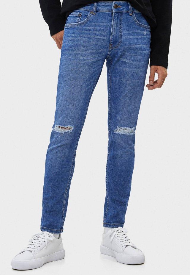 Jeans Skinny - blue-black denim