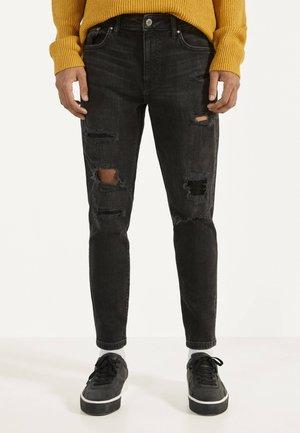 JEANS IM SKINNY-FIT MIT AUFNÄHERN 00243268 - Slim fit jeans - black