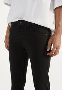 Bershka - Jeans Skinny - black - 3