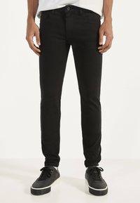 Bershka - Jeans Skinny - black - 0