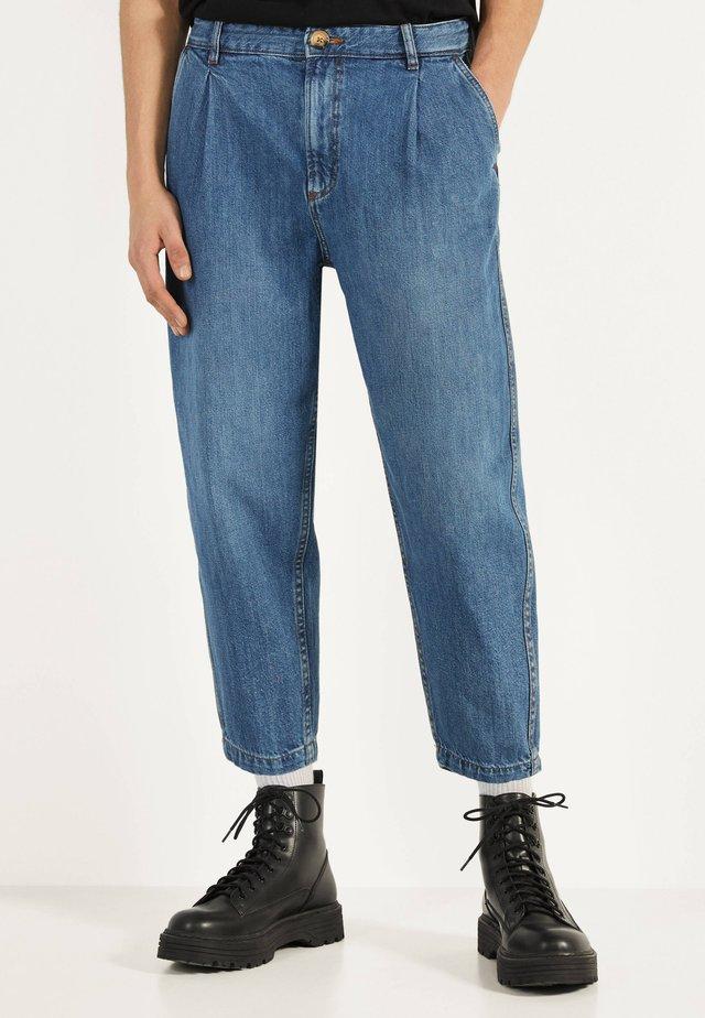 BALLOON - Jeans a sigaretta - blue denim