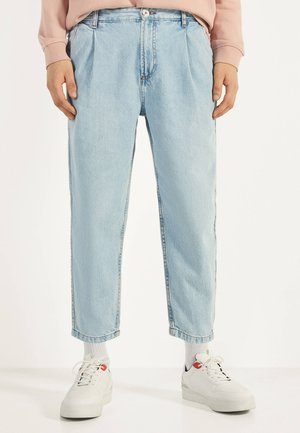 BALLOON - Straight leg jeans - blue