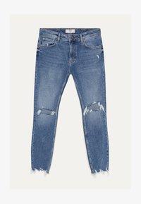 Bershka - Skinny džíny - blue denim - 4