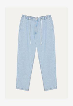 JEANS MIT STRETCHBUND - Straight leg jeans - blue