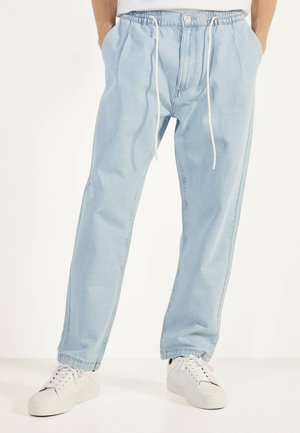 JEANS MIT STRETCHBUND - Straight leg jeans - blue