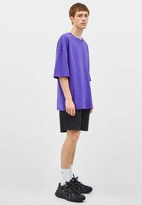 Bershka - T-shirt basique - mauve - 1