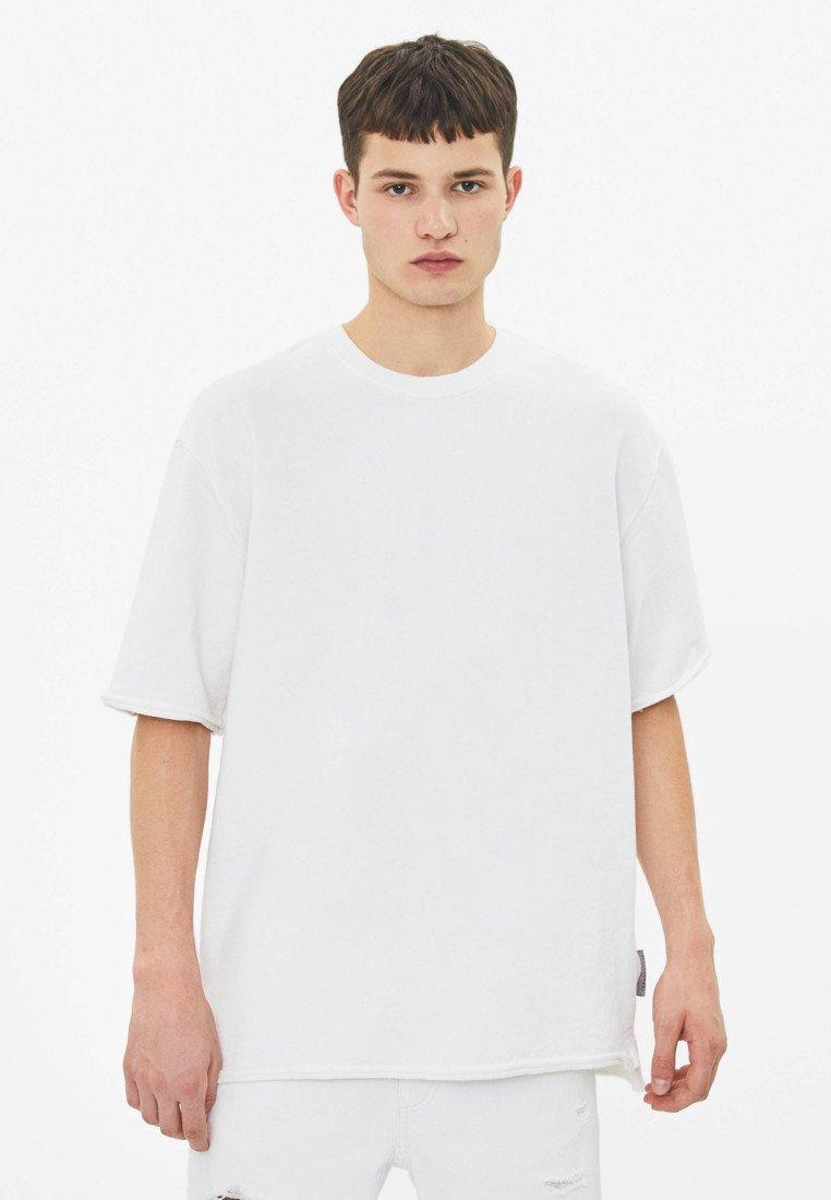Bershka - T-Shirt basic - white