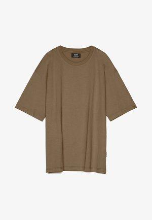 OVERSIZE-SHIRT 02373880 - Jednoduché triko - olive