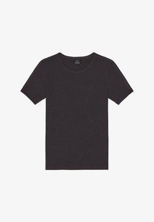 SHIRT MIT RUNDAUSSCHNITT 07758777 - T-shirt basique - grey