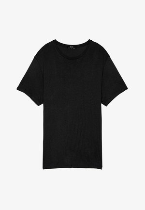 STRICKSHIRT 02350326 - T-shirt - bas - black