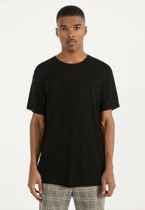 STRICKSHIRT 02350326 - Basic T-shirt - black