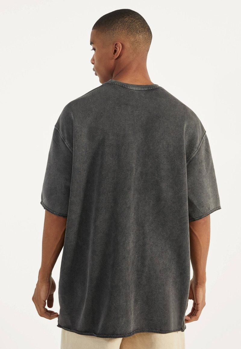 Bershka - Basic T-shirt - dark grey