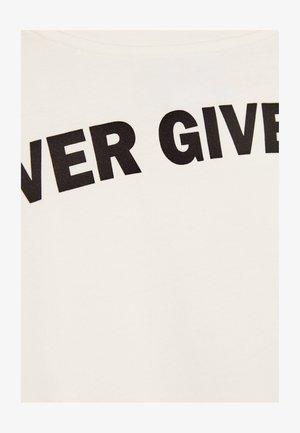 MIT PRINT  - T-shirt imprimé - white