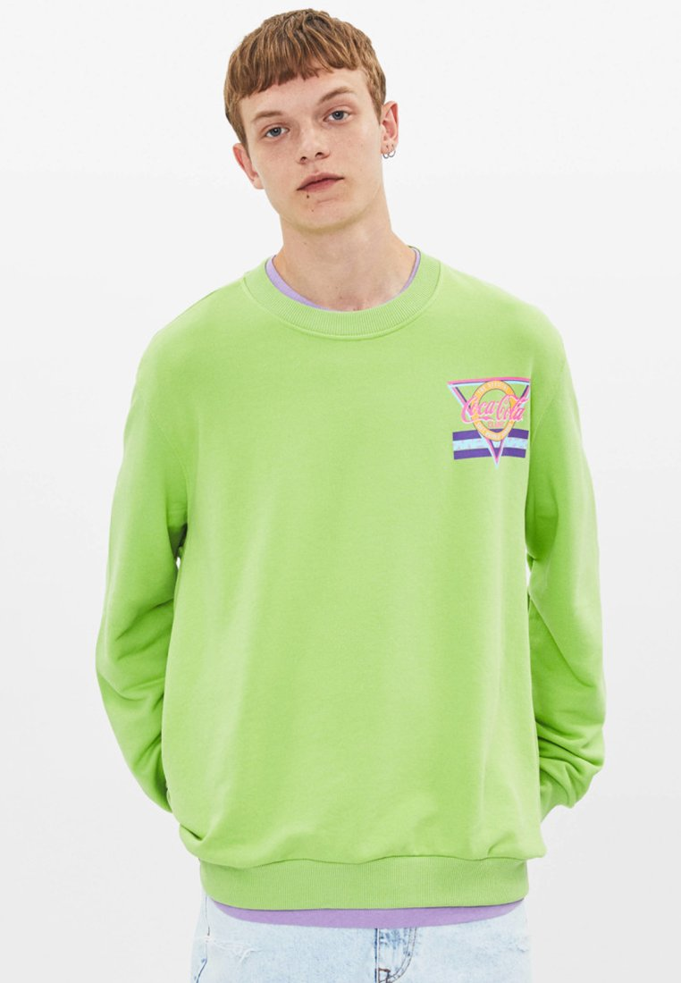 Bershka - Sweatshirt - green