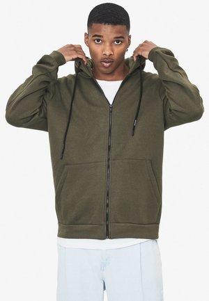 MIT KAPUZE  - Zip-up hoodie - khaki