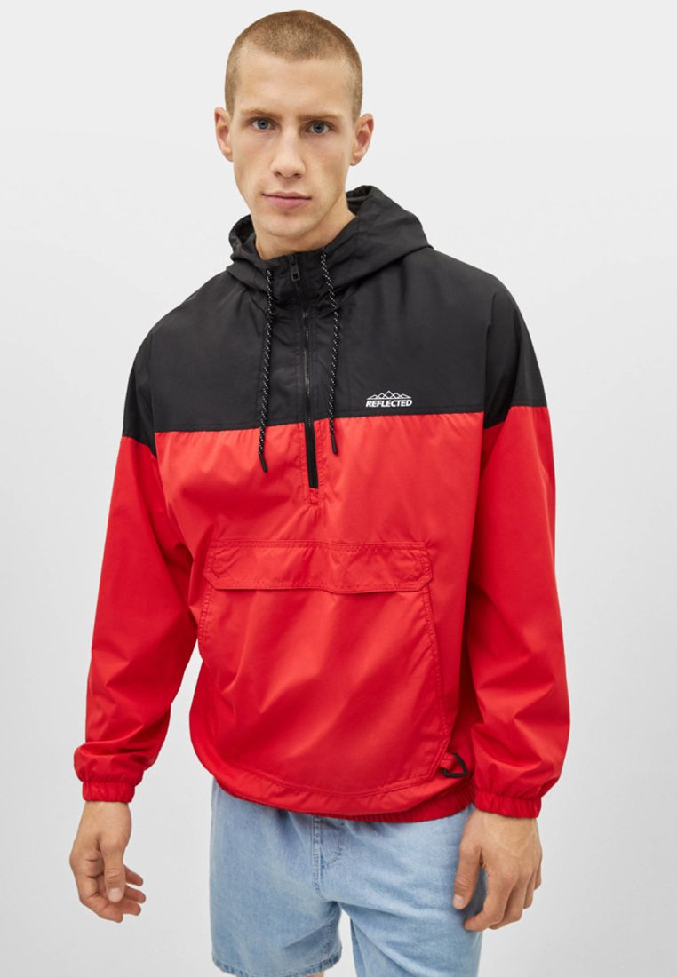 Bershka - Windbreaker - red