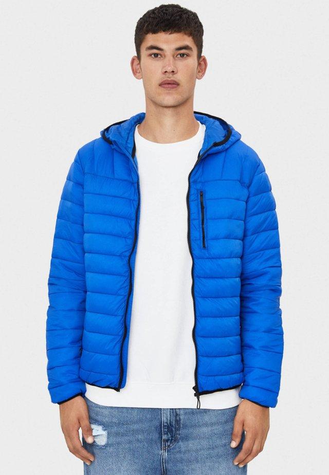 MIT KAPUZE - Jas - blue